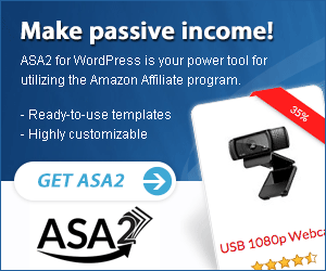 Make passive income with Amazon Simple Affiliate (ASA2) for WordPress